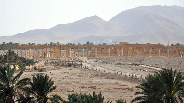 Syria army recaptures Palmyra citadel from ISIL