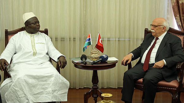 Gambian minister demands Turkish schools in his country