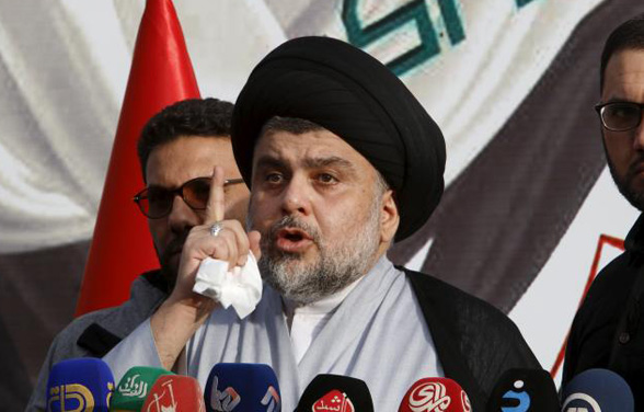 Iraq cleric Sadr in 'Green Zone' sit-in protest