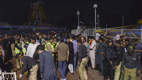 At least 72 killed by suicide blast in Pakistan's Lahore
