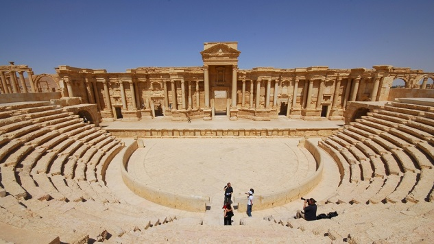 Syria's Palmyra can be restored 'in five years'