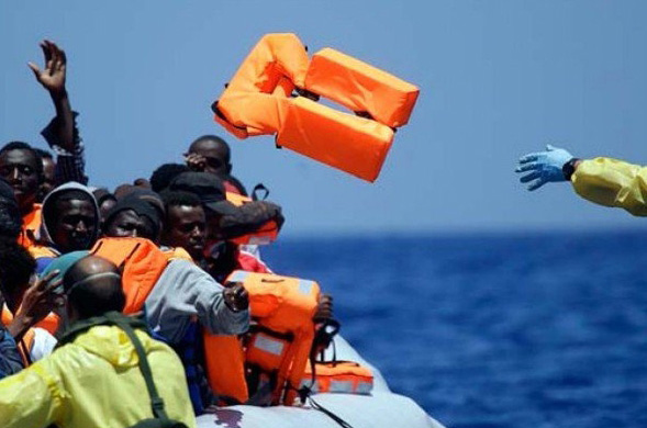 Nearly 1,500 refugees rescued off Libya
