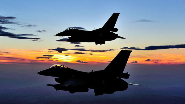 US F-16 crashes in Afghanistan