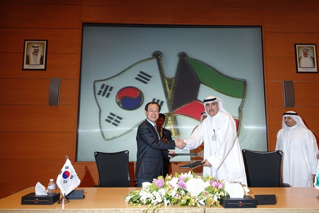 Kuwait signs $2.9bn gas facility deal with SKorean firms