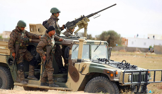 3 soldiers killed in militant attack in western Tunisia
