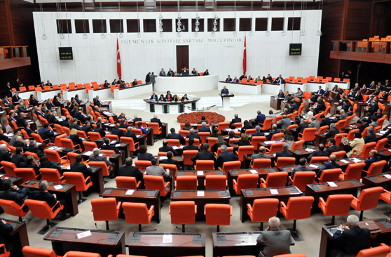 Turkish lawmakers begin to take oaths in capital Ankara