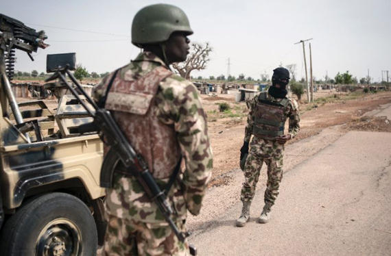 Suicide bombers kill 14 in northeast Nigeria