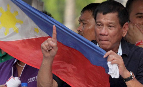 Duterte claims terrorism fueled by drug operations