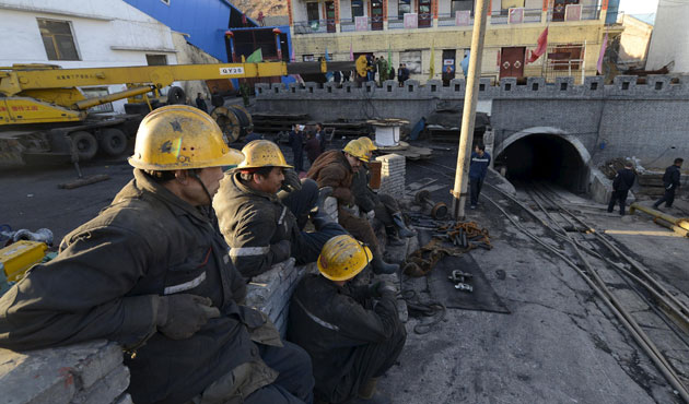 China rescues 23 miners after iron mine blast