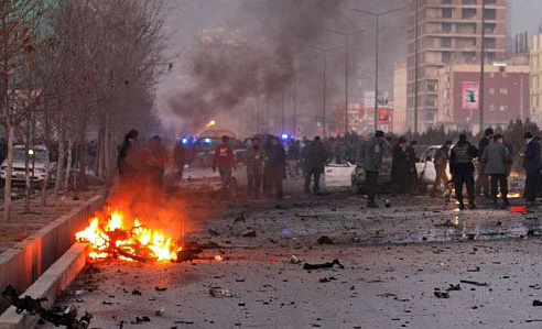 Kabul bombing: Death toll rises to 50