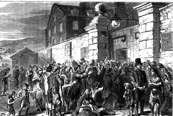 Ottoman aid to the Irish during the Great Famine