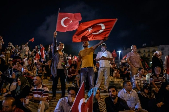 Turkey became symbol of courage