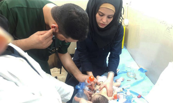 Malaika's story: how one nurse changes lives in Aleppo