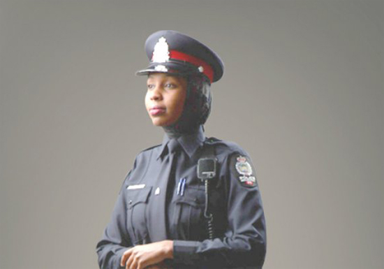 Canada's national police force allows hijab