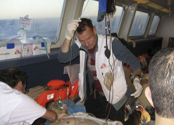 MSF rescue boat off Libya attacked by armed men