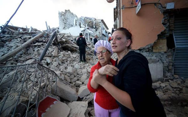 Erdogan offers condolences over Italy earthquake