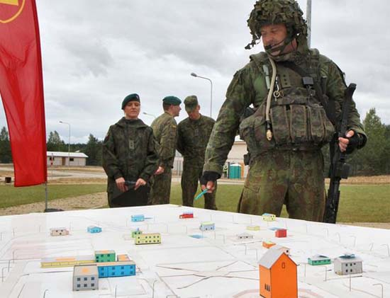 Frightened Lithuania builds fake town for NATO troops