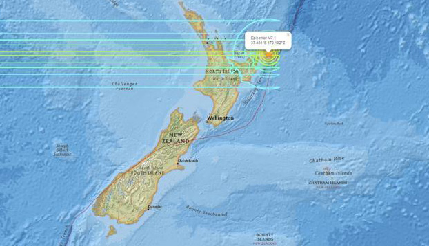 New Zealand hit by 7.1 earthquake