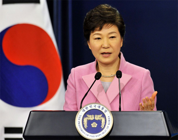 Pre-Russia trip, Park defends US antimissile deployment