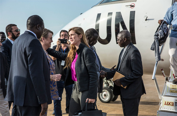 UN delegation in S.Sudan to push for protection force