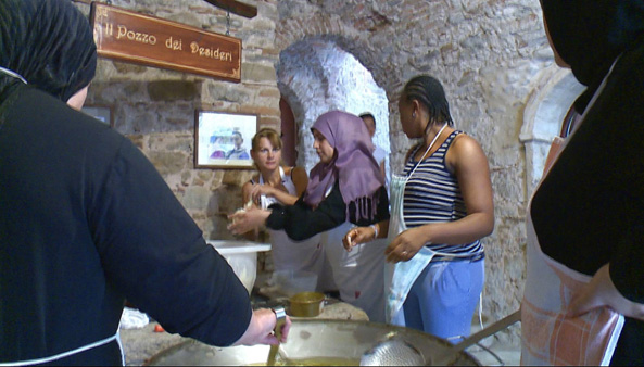 Syrian refugees bring life to Italian village