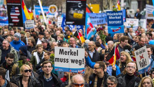 Germany's far-right AfD beat Merkel in local vote