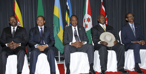 Somalia hosts East African summit for 1st time