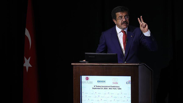 Full customs union best course for EU, Turkey: Minister