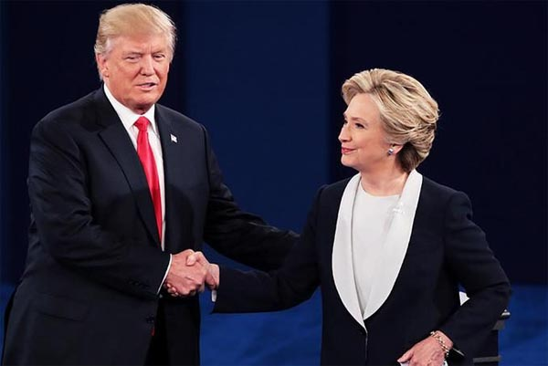 Trump faces off with Hillary Clinton in 2nd debate