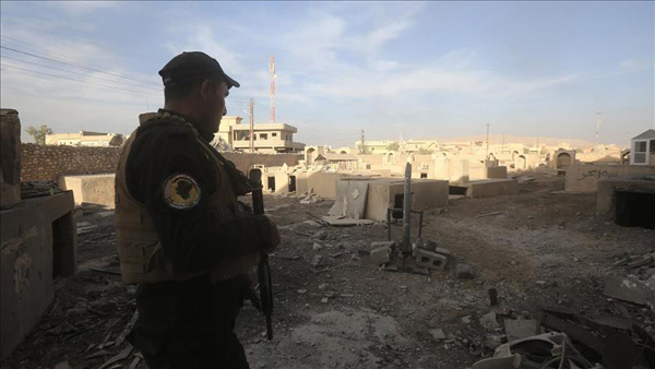 Iraq army seizes munitions depot in ISIL-held E. Mosul