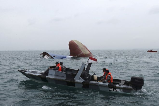 Indonesia: 4 dead after ferry capsizes