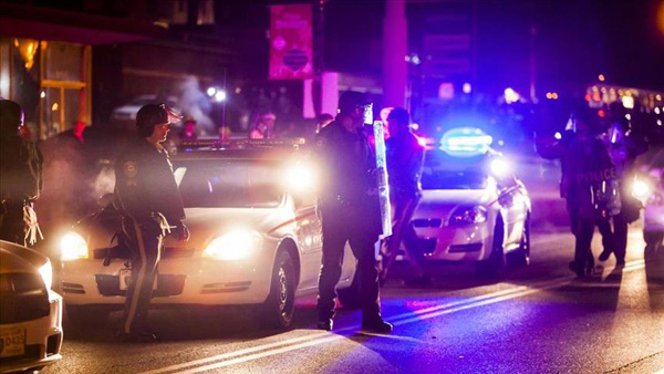 US: Suspect held for killing 2 officers 'ambush-style'