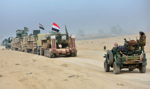 Iraqi forces resume Mosul operation against ISIL