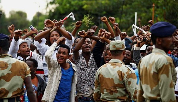 Ethiopia releases nearly 10,000 protest detainees
