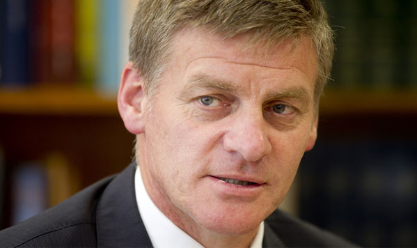 Bill English sworn in as New Zealand prime minister