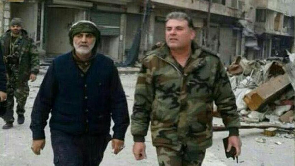 Photos show Iranian general in Aleppo during evacuation