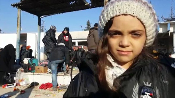 7-year-old Twitter activist evacuated from E. Aleppo