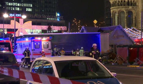 Polish owner of Berlin lorry says driver 'missing'