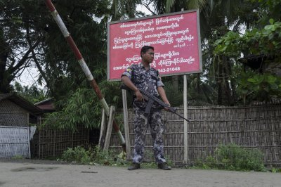 Myanmar army sues students over play