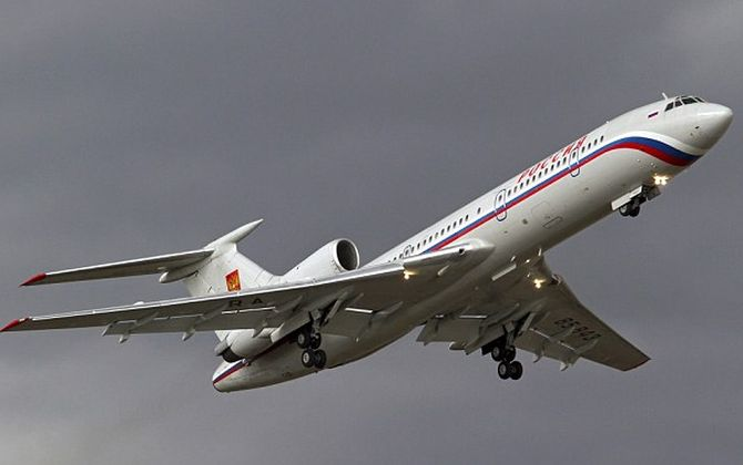 Russian plane missing from radar crashes in Black Sea