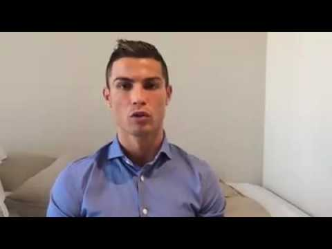 Ronaldo's message to Syrian children goes viral