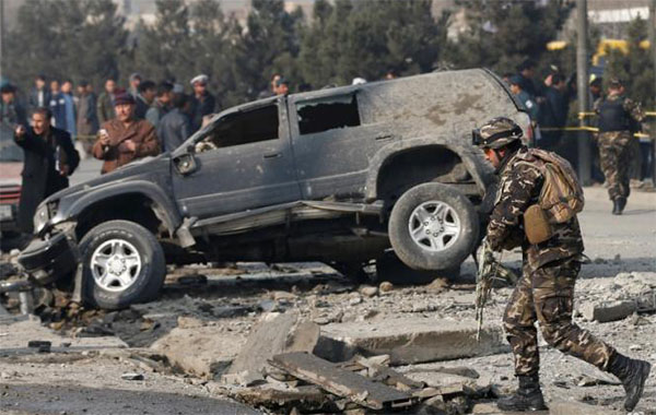 Blast in Kabul hits Afghan MP's vehicle, three wounded