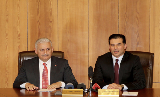 Turkish, Northern Cyprus PM's discuss electricity link