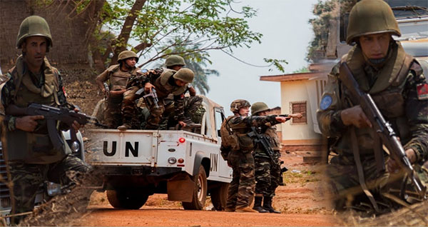 Two Moroccan troops killed in C. Africa convoy attack