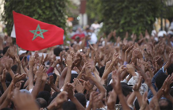 Morocco protesters remain defiant