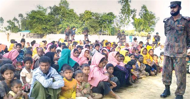 Myanmar: Police detained over Rohingya abuse video