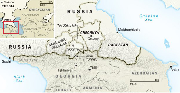 Two Russian police killed in North Caucasus