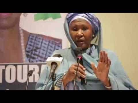 Gambia's new president names woman as vice president