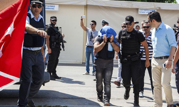 FETO terror suspects caught near Turkey's Greek border