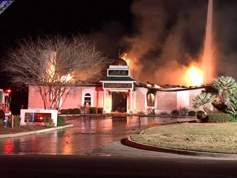 US: $120K raised in 9 hours after fire guts mosque